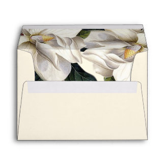 Southern Botanical Wedding Pre-Addressed Envelope