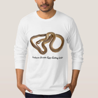 Southern Brown Egg-Eating SnaAmerican Apparel Long T-Shirt