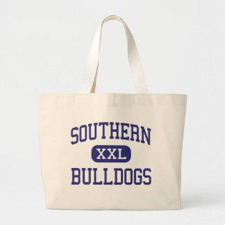 Southern - Bulldogs - High - Harwood Maryland Tote Bags