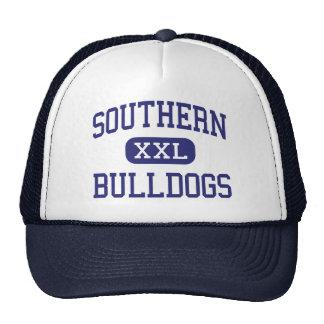 Southern - Bulldogs - High - Harwood Maryland Mesh Hats