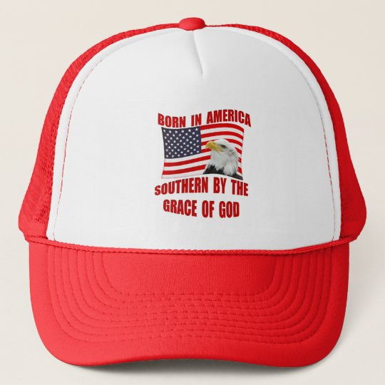 Southern By Grace of God Born American Hats Caps  6c826b268e1