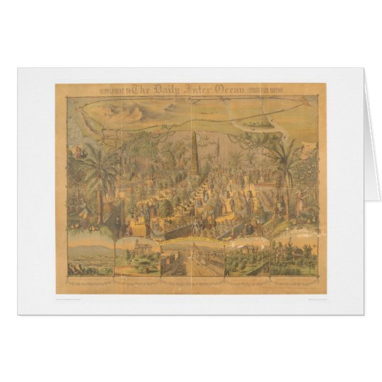 Southern CA. Citrus Fair, Chicago, IL. (0283A) Card