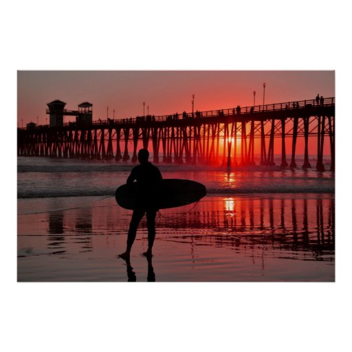Southern Cal Sunset Poster