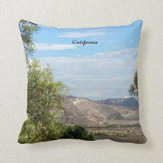 Southern Cali Canyons Throw Pillows