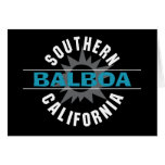 Southern California - Balboa Greeting Card