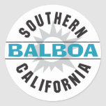 Southern California - Balboa Stickers