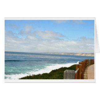 Southern California Beach and Ocean Card