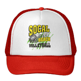Southern California Beach Volleyball Gift Mesh Hat