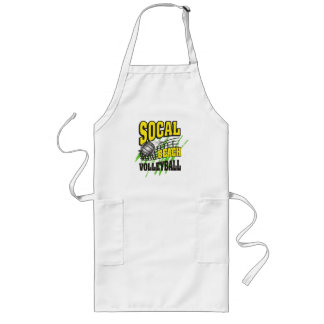 Southern California Beach Volleyball Gift Long Apron