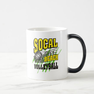 Southern California Beach Volleyball Gift Magic Mug