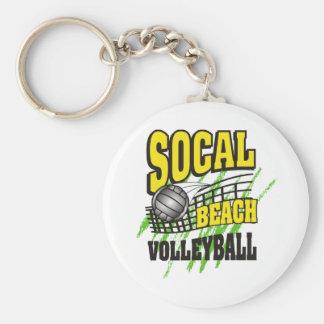 Southern California Beach Volleyball Keychain