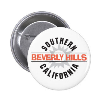 Southern California Beverly Hills Pinback Button