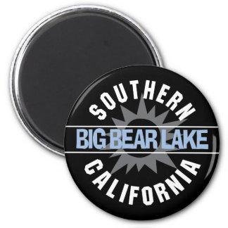 Southern California - Big Bear Lake 2 Inch Round Magnet