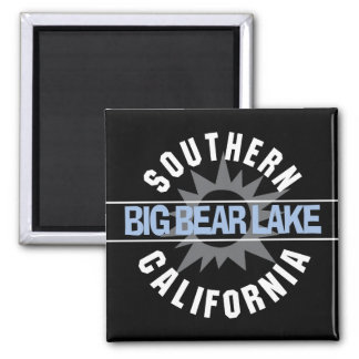 Southern California - Big Bear Lake 2 Inch Square Magnet