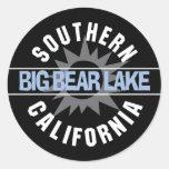 Southern California - Big Bear Lake Classic Round Sticker