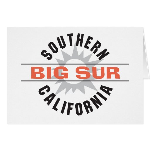 Southern California - Big Sur Cards