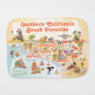 Southern California Burp Cloth
