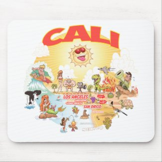 Southern California CALI Mouse Pad