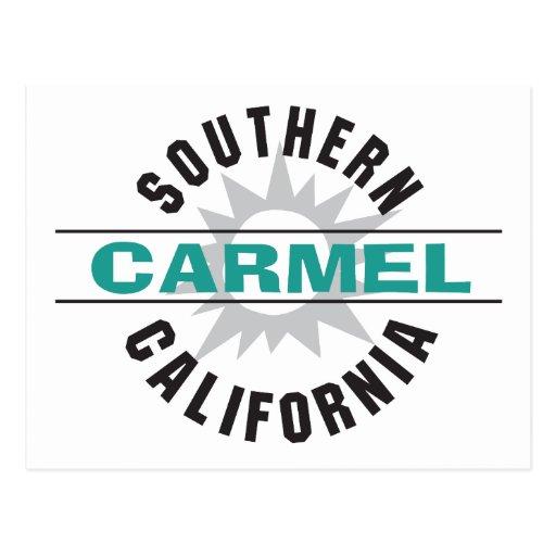 Southern California - Carmel Post Cards