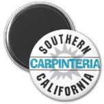Southern California - Carpinteria 2 Inch Round Magnet