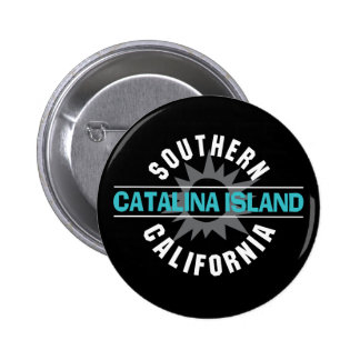 Southern California - Catalina Island 2 Inch Round Button