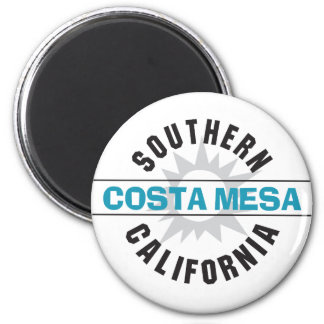 Southern California - Costa Mesa 2 Inch Round Magnet