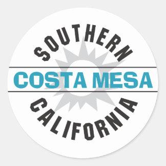 Southern California - Costa Mesa Classic Round Sticker