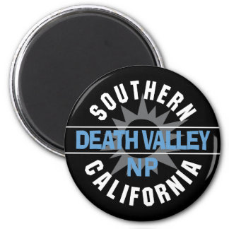 Southern California - Death Valley National Park 2 Inch Round Magnet