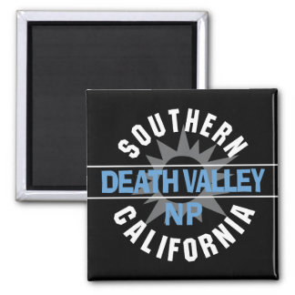 Southern California - Death Valley National Park 2 Inch Square Magnet