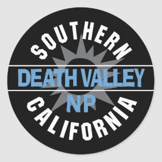 Southern California - Death Valley National Park Stickers