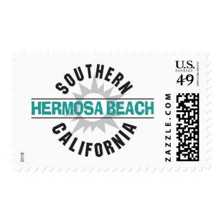 Southern California - Hermosa Beach Stamp