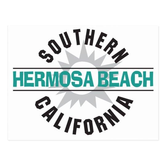 Southern California - Hermosa Beach Postcard