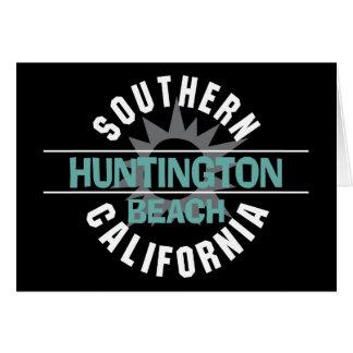 Southern California - Huntington Beach Card