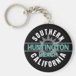 Southern California - Huntington Beach Keychain