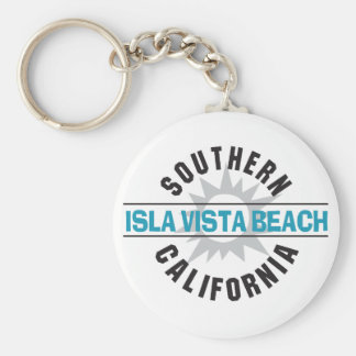 Southern California Isla Vista Beach Keychain