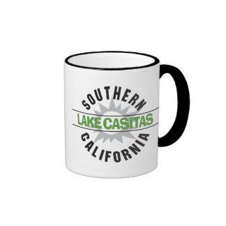 Southern California - Lake Casitas Ringer Coffee Mug