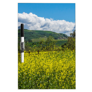 Southern California Landscape Dry Erase Board