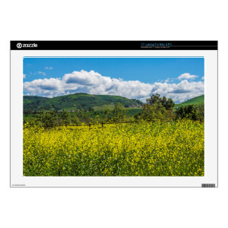 """Southern California Landscape 17"""" Laptop Decals"""