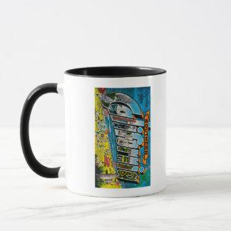 Southern California - Large Letter Scenes Mug