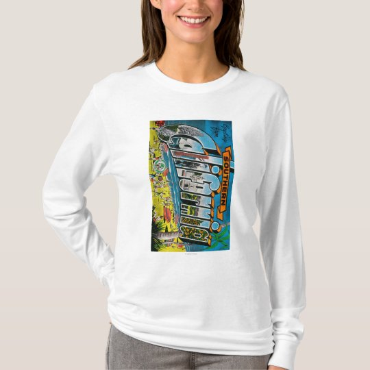 Southern California - Large Letter Scenes T-Shirt