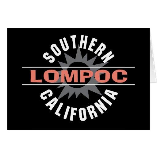 Southern California - Lompoc Card