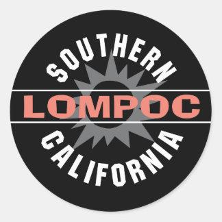 Southern California - Lompoc Classic Round Sticker