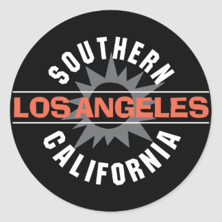 Southern California - Los Angeles Classic Round Sticker