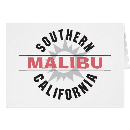 Southern California - Malibu Card