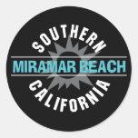 Southern California - Miramar Beach Classic Round Sticker