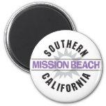 Southern California - Mission Beach Fridge Magnet