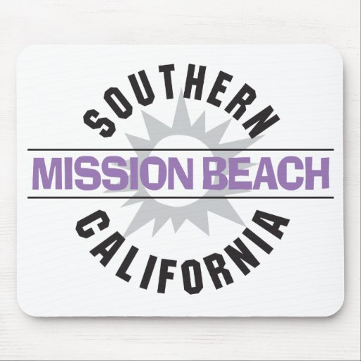 Southern California - Mission Beach Mouse Pad