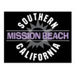 Southern California - Mission Beach Postcard
