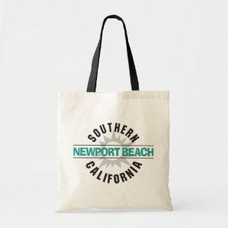 Southern California - Newport Beach Canvas Bag