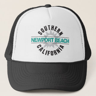 Southern California - Newport Beach Trucker Hat